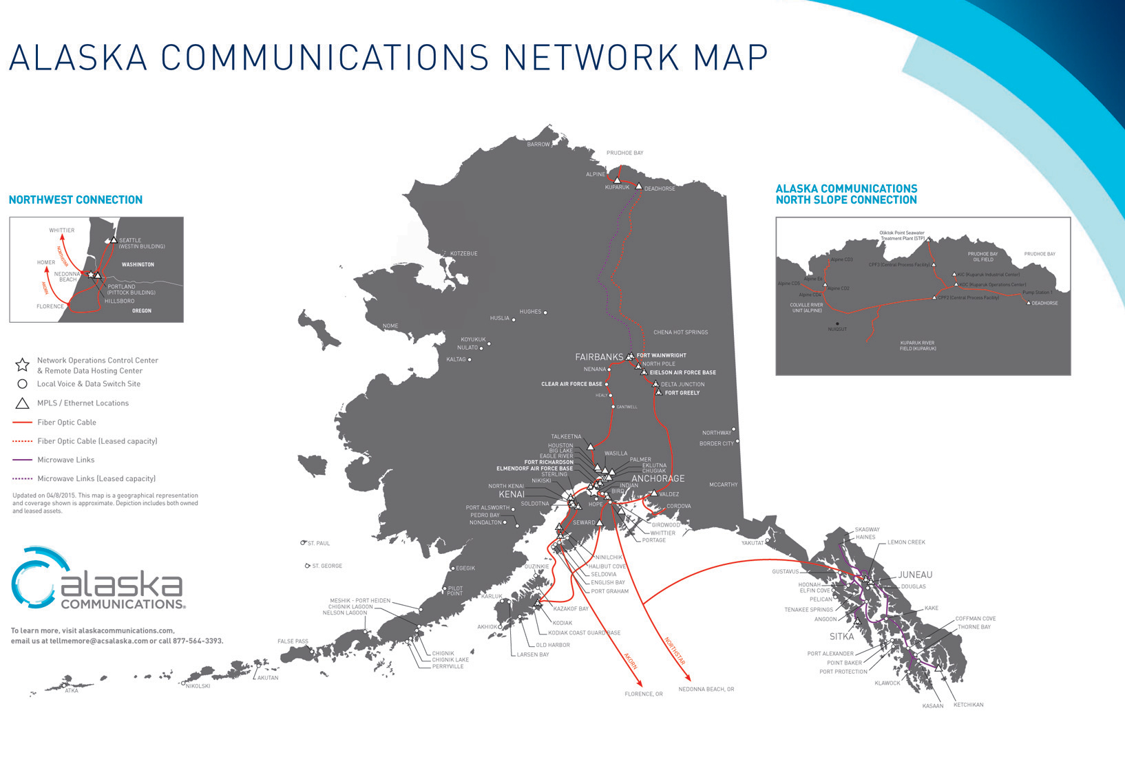 verizon alaska coverage map with Acs Quintillion Operate North Slope Fiber  Work on 147 Cities To Have Verizon 4G LTE Coverage By Year S End furthermore Cell Coverage In Yosemite National Park also What Are Coverage Maps Us Carriers in addition Sprint Vs Verizon Coverage Map moreover Gci And T Mobile Strike Lte Roaming Deal.