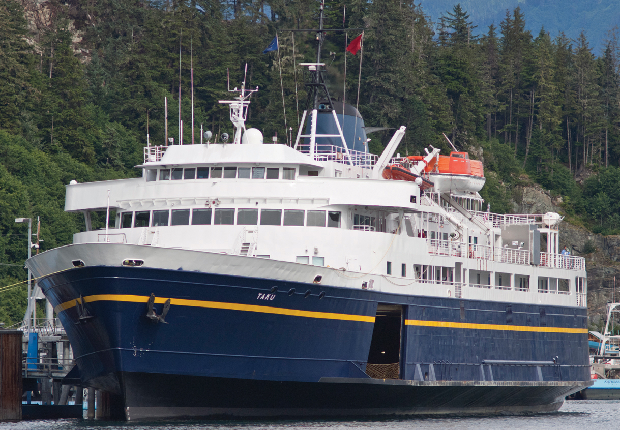 Alaska Journal | Ferry system braces for cuts; state funds down 15 ...